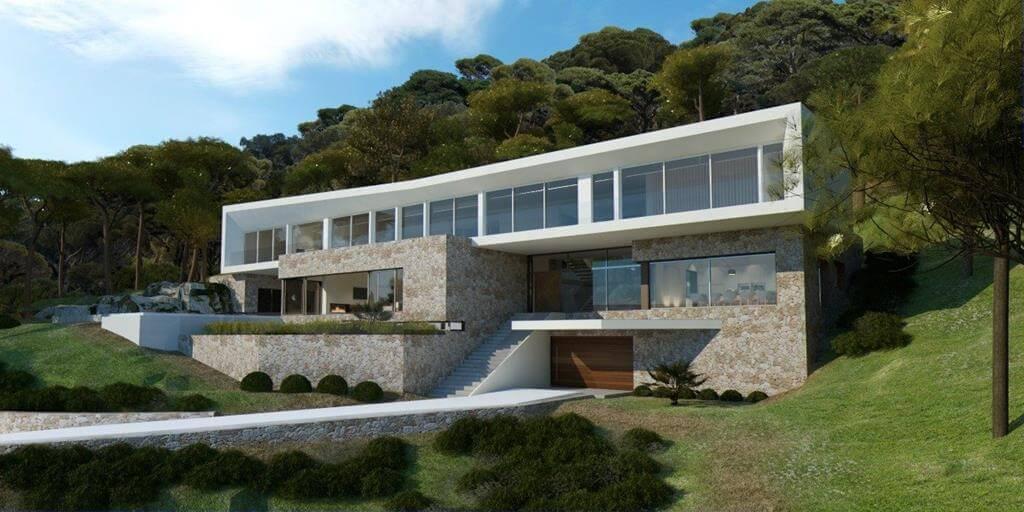 Favorit moderne villa deutschland xp26 messianica for Moderne villen